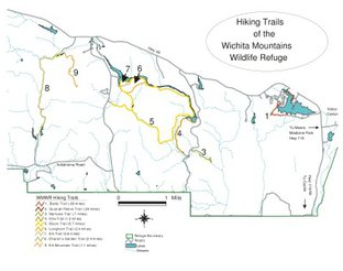 View Wichita Mountains Wildlife Refuge Trail System Map