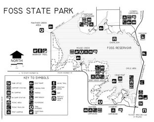 View Foss State Park Map