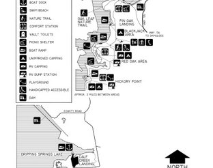 View Okmulgee State Park Map