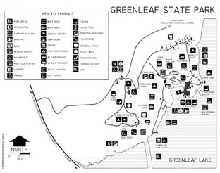 View Greenleaf State Park map
