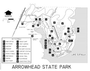 View Arrowhead State Park map