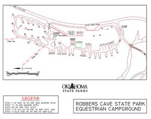 View Equestrian Campground Map