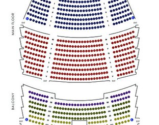 View Armstrong Auditorium Seating Chart