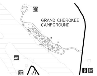View Grand Cherokee Campground Map