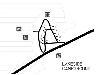 View Lakeside Campground Map
