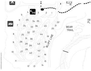 View Natural Falls Campsite Map