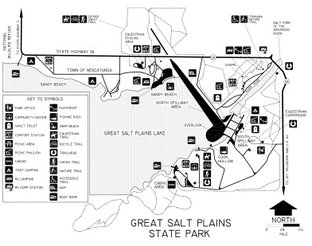View Great Salt Plains State Park Map