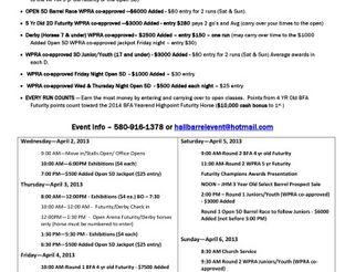 View Jackson Hall Memorial Barrel Event Schedule