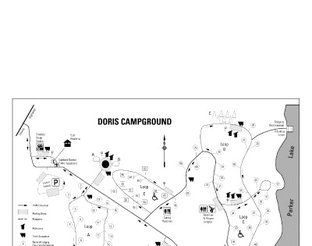 View Doris Campground Map