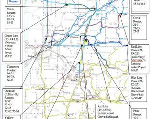 View Pelivan Transit Routes