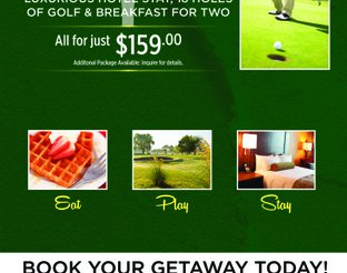 Play and Stay with Golf Packages