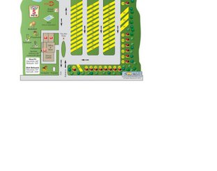 Sallisaw/Fort Smith W. KOA Site Map