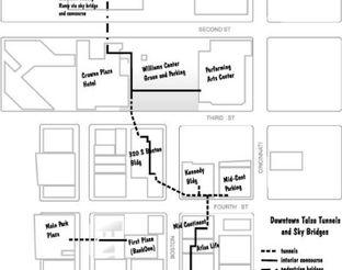 View Tulsa Tunnels Map