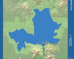 View Tom Steed Lake Map