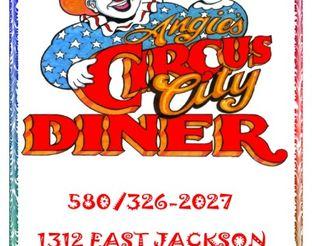 View Angie's Circus City Diner Menu