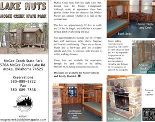 View Lake Hut Information