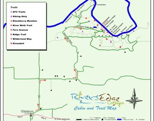 Map of Rivers Edge Properties