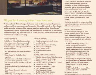 View Hotel Fact Sheet