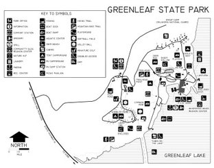 Greenleaf State Park Map