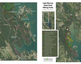 View Map of the Trails North of the Park Office
