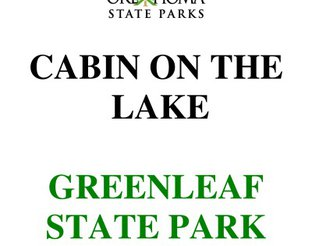 Cabin on the Lake Brochure