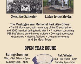 Muskogee War Memorial Park Brochure - Side 2