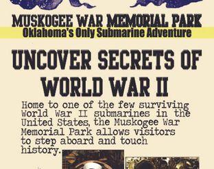 Muskogee War Memorial Park Brochure - Side 1