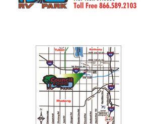 View Council Road RV Park Map