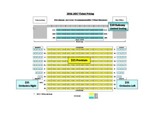 BACP Seating Chart