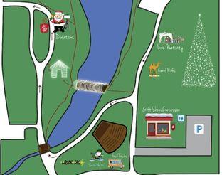 2016 Festival of Light Park Map