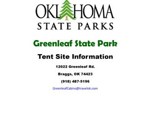 Tent Campground Information