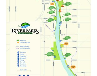 Map of River Parks and Trails