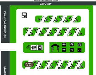 Map of the Expo RV Park