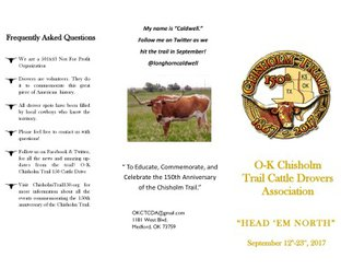Cattle Drive Brochure