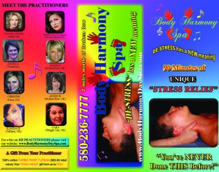 Body Harmony Spa Brochure