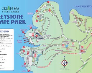 Keystone State Park Cabin Map on keystone state park campground map, lake berryessa cabin map, keystone lake cabins state parks, robbers cave state park map, keystone state park cabin rates, lake murray cabin map,