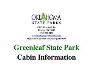 Cabin Brochure