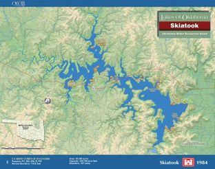 View Skiatook Lake Map