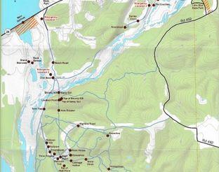 Map of Disney Off-Roading Area