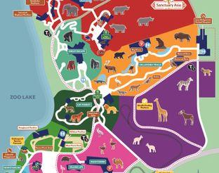 OKC Zoo Map 2020
