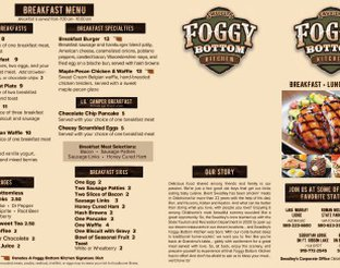 Swadley's Foggy Bottom Kitchen Menu
