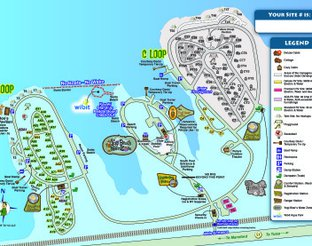 View Camp Site Map