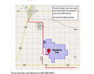 View map with directions and GPS coordinates