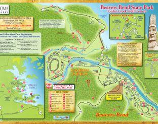 Beavers Bend Park Map