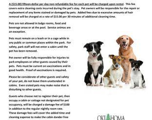 Yurt Pet Policy