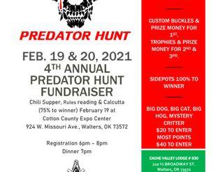 2021 Predator Hunt flyer