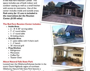 Information about the Red Fern Reunion Center
