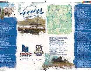 Map of Tishomingo & Businesses