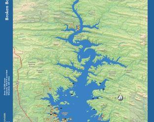 View Broken Bow Lake Map