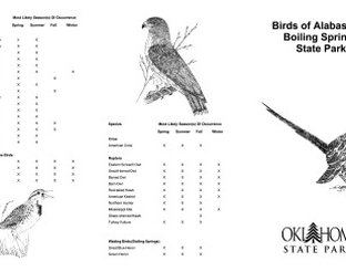 View Alabaster Caverns Birding Guide